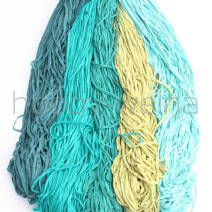 Cotton tricot ribbons