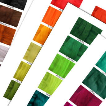 Colour Merino 16 μm