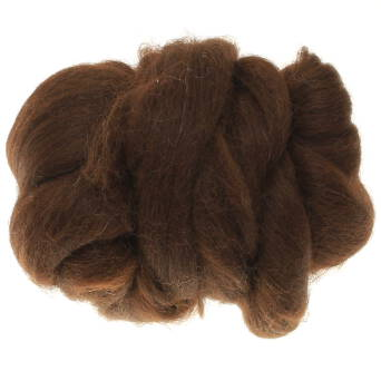 Alpaca dark brown 25 g